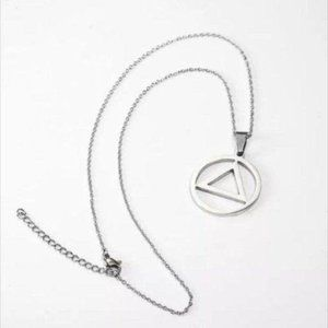 Stainless AA Recovery necklace
